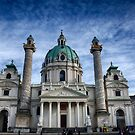 St. Charles Church Vienna by Christian  Zammit