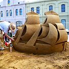 Ship of Sand by TonyCrehan