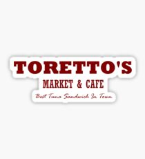 Toretto's Market & Cafe Sticker
