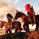 Pirates like bikes, ninjas like horses by bricksailboat