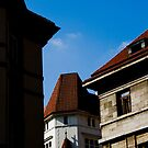 Prague Buildings by dozzie