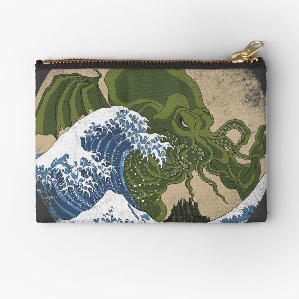 Hokusai Cthulhu Zipper Pouch