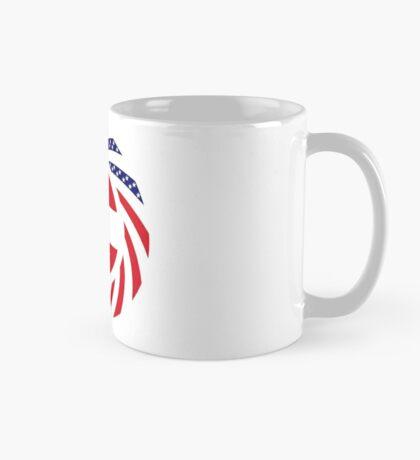 Austrian American Multinational Patriot Flag Series Mug