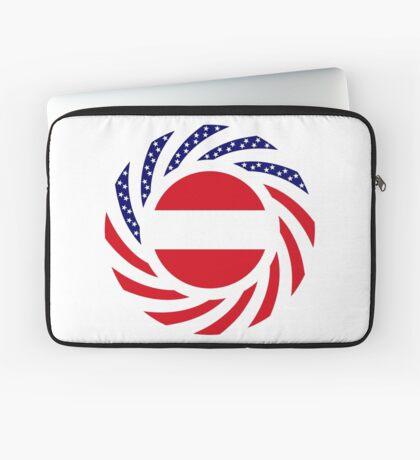 Austrian American Multinational Patriot Flag Series Laptop Sleeve