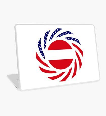 Austrian American Multinational Patriot Flag Series Laptop Skin