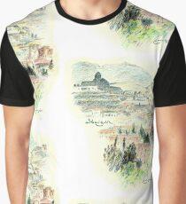 Granada · Vista del Albaicín al amanecer Camiseta gráfica