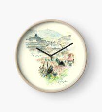 Granada · Vista del Albaicín al amanecer Reloj