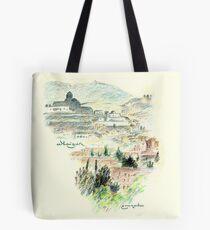 Granada · Vista del Albaicín al amanecer Bolsa de tela