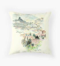 Granada · Vista del Albaicín al amanecer Cojín