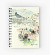 Granada · Vista del Albaicín al amanecer Cuaderno de espiral