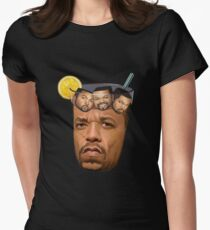 Ice T & Ice Cube Women's Fitted T-Shirt