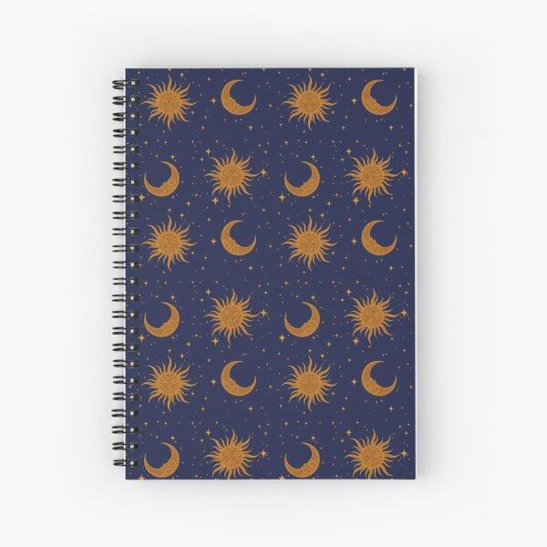Celestial Spiral Notebook
