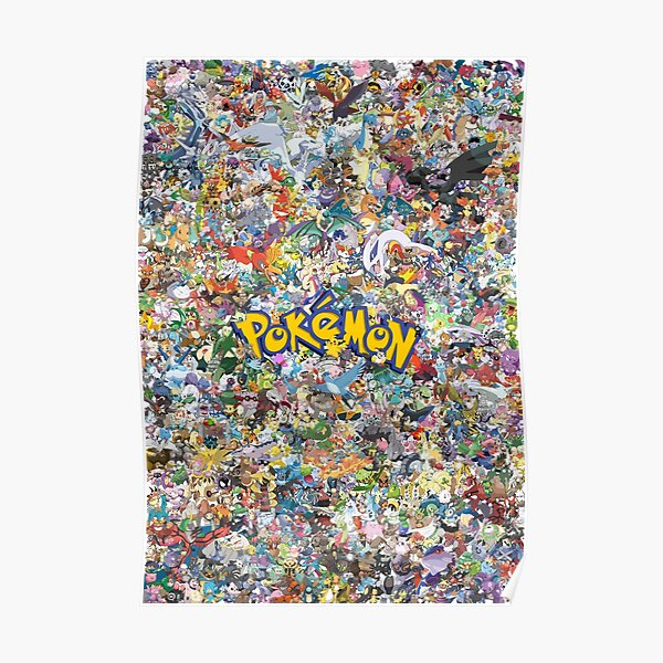 Catch them all Poster