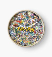 Catch them all Clock