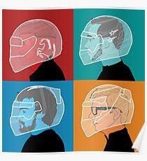 Beneath The Helmet Poster