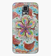 mandala - chickens Case/Skin for Samsung Galaxy