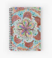 mandala - chickens Spiral Notebook