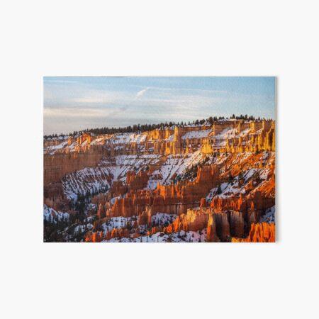Bryce Canyon Art Board Print