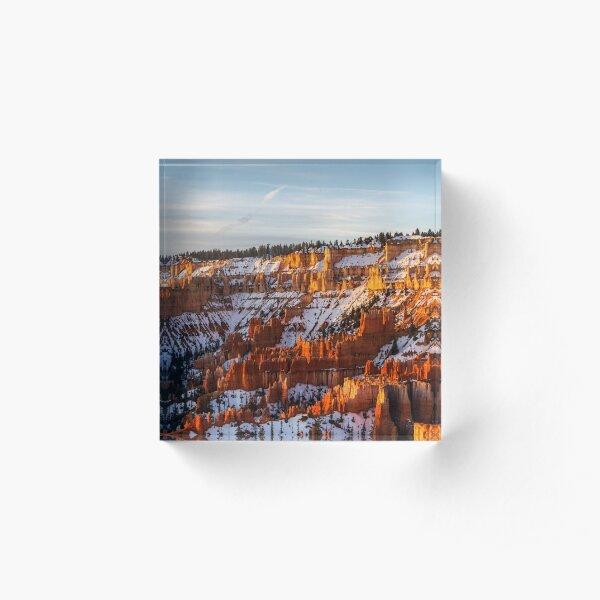 Bryce Canyon Acrylic Block