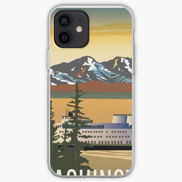 Washington State Ferry iPhone Soft Case