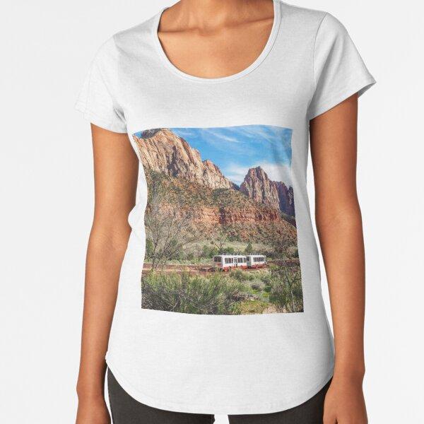 Zion National Park Premium Scoop T-Shirt