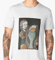 female figure Men's Premium T-Shirt