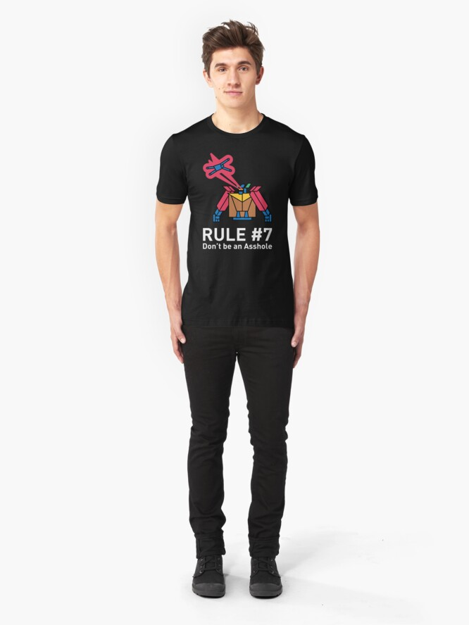 Alternate view of The GyShiDo Rule #7 T-Shirt Slim Fit T-Shirt