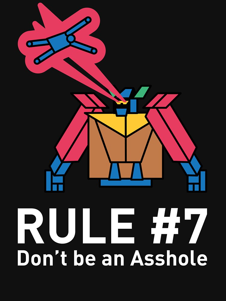 The GyShiDo Rule #7 T-Shirt by GyShiDo-Store