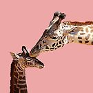 A Mother's Love-Pink by Judy Vincent