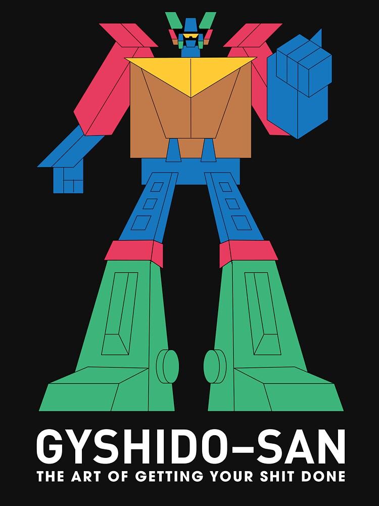 The GyShiDo-San T-Shirt by GyShiDo-Store