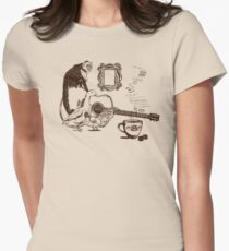 90s New York Still Life Womens Fitted T-Shirt
