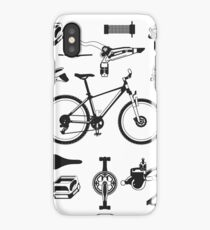 Vintage: Bicycle Bike Anatomy Parts Cyclist Gift Men Women iPhone Case