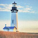 Yaquina Head Lighthouse by Walter Colvin