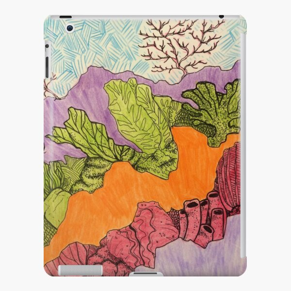 Coral Crush iPad Snap Case