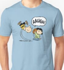 CHARLIE BROWN AND LUCY FOOTBALL Unisex T-Shirt