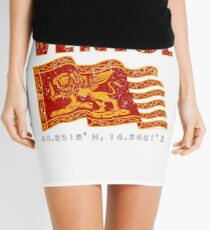 Venice Italy St. Mark's Square Flag  Mini Skirt