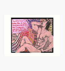 Careless Whispers, Tribute by Andrew Ridgeley & George Michael b.k.a WHAM-Jan. 12-15, 2016 Art Print