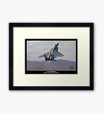 F-15C Eagle Framed Print