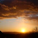 Sunset From Boulby Cliff by dougie1