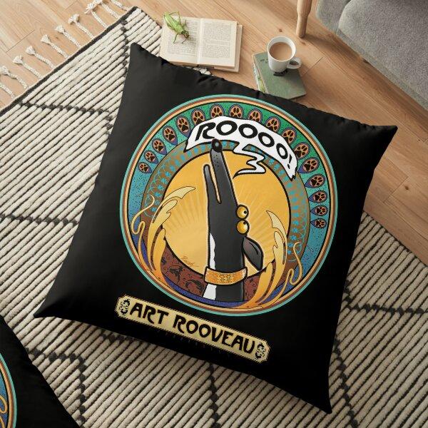Art Rooveau: A Redbubble exclusive design Floor Pillow