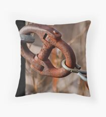 Weak Link Throw Pillow
