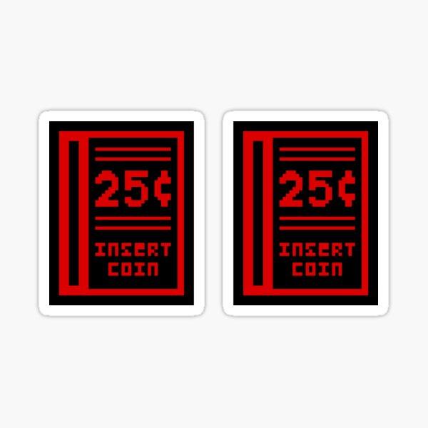 Coin Slot Sticker