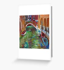 Italian Reflections Greeting Card