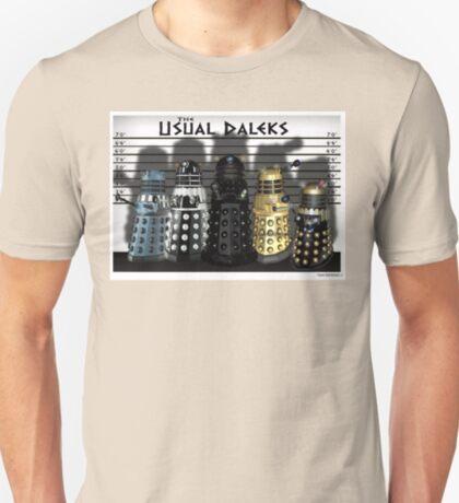 The Usual Daleks T-Shirt