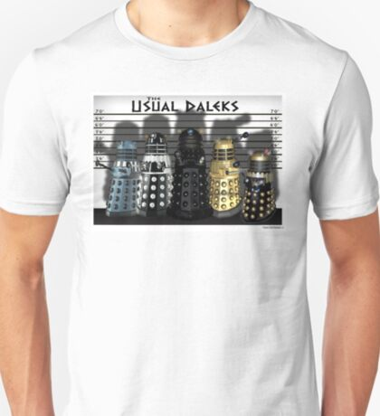 The Usual Daleks T-Shirt