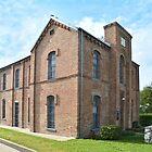 Historic Panola County Jail, Carthage, Texas by Catherine Sherman