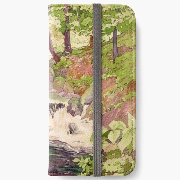 Afon Clywedog iPhone Wallet