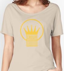 Old Style Yellow Crown Women's Relaxed Fit T-Shirt