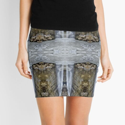 Waterfall, cascade, fall, cataract, Niagara, linn Mini Skirt