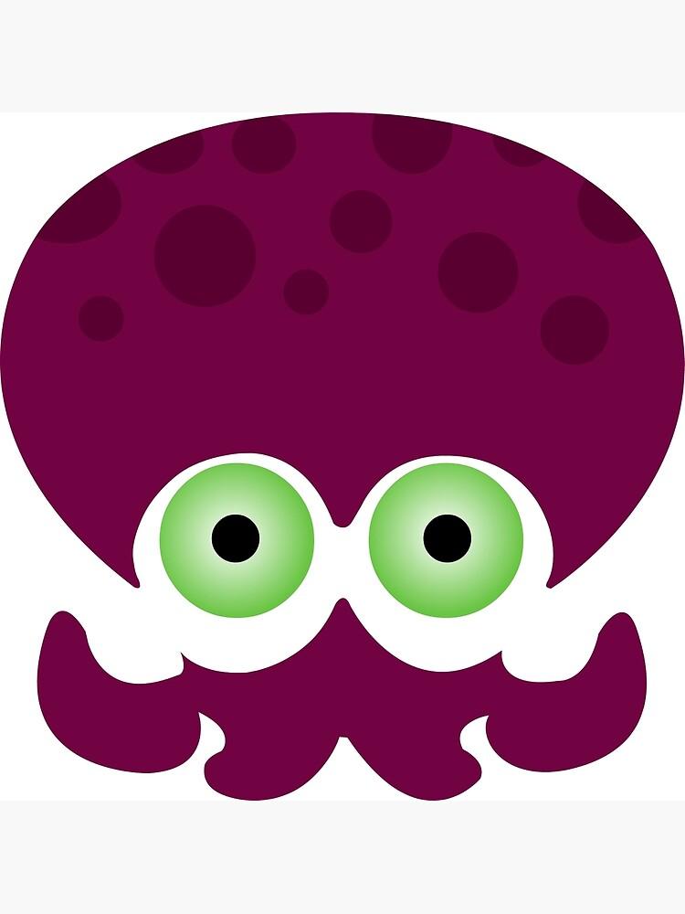 Splatoon - Octopus Logo by TheBritishSonic